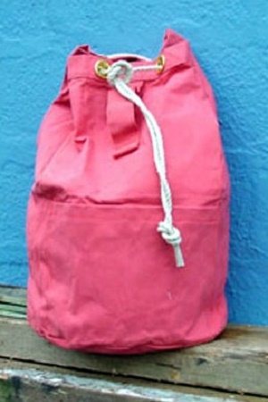 Canvas Kit Bag Pink & H.S. Group Division | Tent u0026 Tarpaulin - Relief Goods